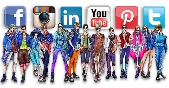 moda y redes sociales